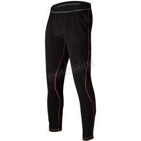 Black/Orange Pyro Thermal Pants