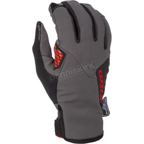 Asphalt/High Risk Red Inversion Gloves