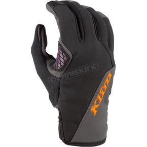 Womens Deep Purple/Strike Orange Versa Gloves