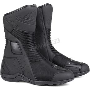 Black Solution Air Boots