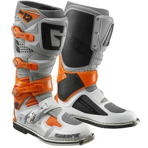 Orange/Gray/White SG-12 Boots
