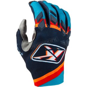 Women's Shattered Blue XC Lite Gloves