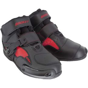 Black/Red Sector Boots