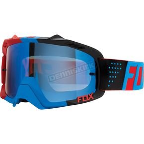 Fox Blue/Red/Blue Spark Libra Air Defence Goggles - 15359-901-NS