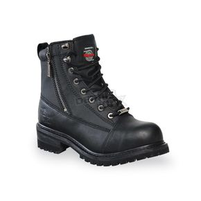 Womens Accelerator Leather Boots