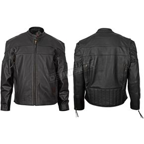 Milwaukee Motorcycle Clothing Co. Maverick Leather Jacket - M10064XXXL