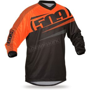 509 Orange Windproof Jersey - 509-JER-WPO-MD