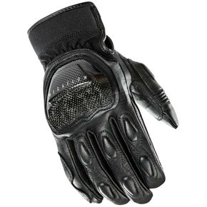 Joe Rocket Black Speedway Leather Gloves - 1334-1002