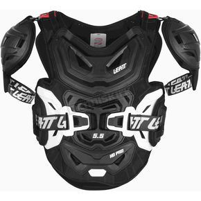 Black/White 5.5 Pro HD Chest Protector