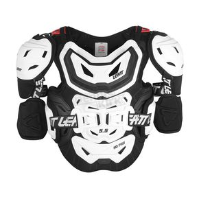 Leatt Black/White 5.5 Pro HD Chest Protector - 5014101103