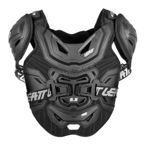 Black/White 5.5 Pro Chest Protector
