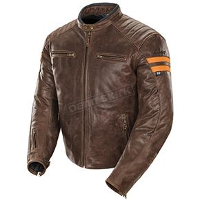 Joe Rocket Brown/Orange Classic '92 Jacket - 1326-2706