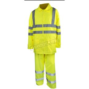 Mossi Hi-Viz Yellow Rainwear Set - 51-133-13