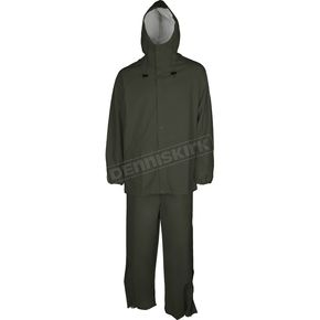 Mossi Olive Drab Youth SX PVC Rainsuit - 51-200YOD-YM