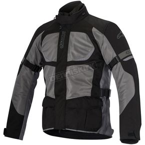 Alpinestars Black/Gray Santa Fe Air Drystar Jacket - 3206416-111-M