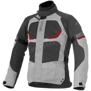 Alpinestars Light Gray/Dark Gray Santa Fe Air Drystar Jacket - 3206416-922-4XL
