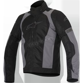 Alpinestars Black/Gray Amok Air Drystar Jacket - 3207716-111-3XL