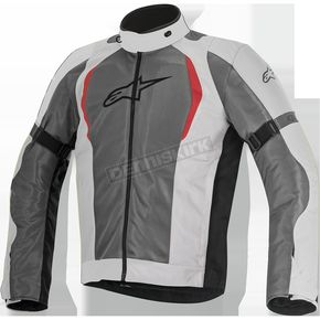 Alpinestars Light Gray/Dark Gray Amok Air Drystar Jacket - 3207716-922-M