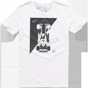 Alpinestars White Vertices T-Shirt - 101673017020M
