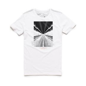 Alpinestars White Rush T-Shirt - 101673013020S