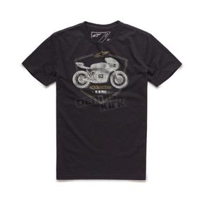 Alpinestars Black Etch T-Shirt - 10167300210M