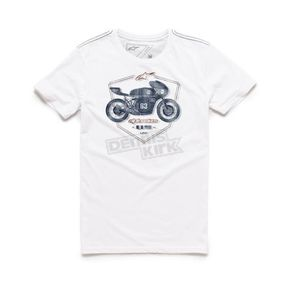 Alpinestars White Etch T-Shirt - 101673002020L