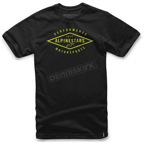 Alpinestars Black Expedition T-Shirt - 101672006102X