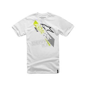 Alpinestars White Precise T-Shirt - 101672013020XL