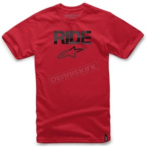 Alpinestars Red Ride Stealth T-Shirt - 1016720140302X