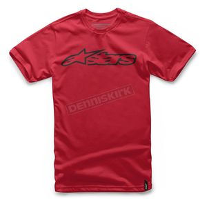 Alpinestars Red/Black Blaze T-Shirt - 1032720323010M