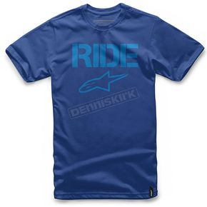 Alpinestars Blue Ride Solid T-Shirt - 1025720077974XL
