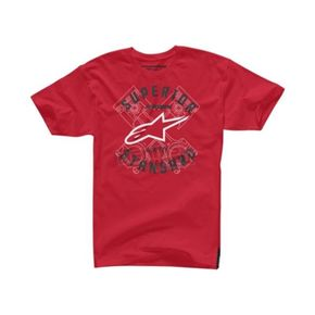 Alpinestars Red Scan T-Shirt - 104572003030XL