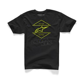 Alpinestars Black Bolt T-Shirt - 10457205310L