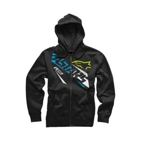 Alpinestars Black Precise Zip Hoody - 10165300410XL