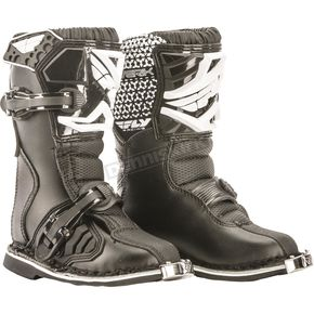 Fly Racing Black Maverik Mini Boots - 364-56099