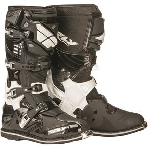 Fly Racing Black Sector Boots - 363-57008