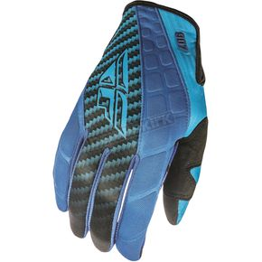 Fly Racing Blue/Black 907 MX Cold Weather Gloves - 369-64109