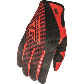 Fly Racing Red/Black 907 MX Cold Weather Gloves - 369-64210