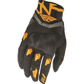 Fly Racing Black/Orange Evolution 2.0 Gloves - 369-11713