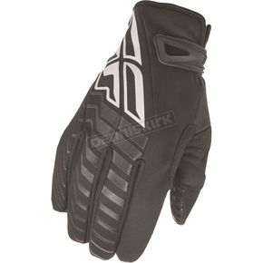 Fly Racing Black/White Title Cold Weather Gloves - 368-04012