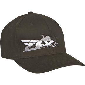 Fly Racing Black Primary Fitted Hat - 351-0370L