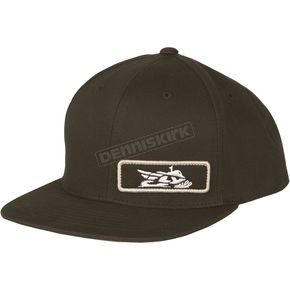 Fly Racing Black Primary Snapback Hat - 351-0470