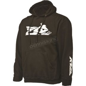 Fly Racing Black Primary Hoody - 354-0160X