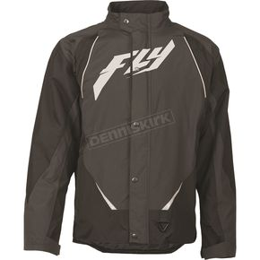 Fly Racing Black/Gray Aurora Jacket - 470-2120S
