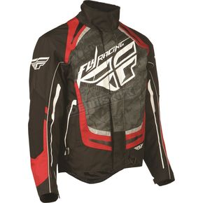 Fly Racing Black/Red SNX Pro Jacket - 470-2182M