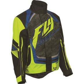 Fly Racing Black/Hi-Vis SNX Pro 2016 Jacket - 470-31882X