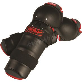 Fly Racing Black/Red Fly Knee/Shin Guard - 28-3066