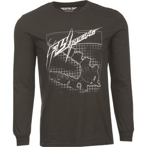 Fly Racing Black Fly Focus Long Sleeve Shirt - 352-0710X