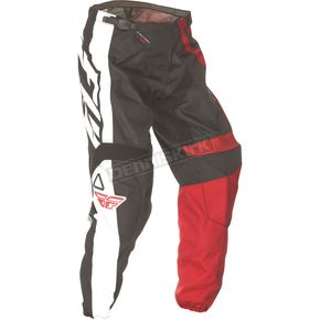 Fly Racing Youth Red/Black F-16 Pants - 369-93218