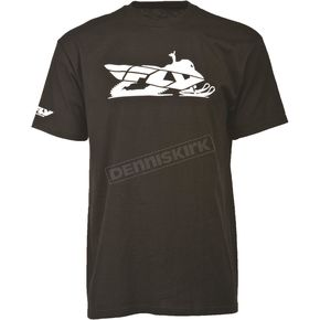Fly Racing Black Primary T-Shirt - 352-0520S
